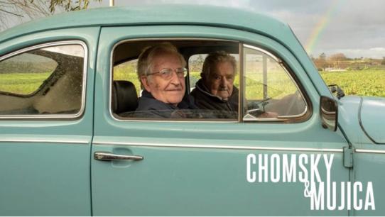 Risultati immagini per chomsky e mujica film